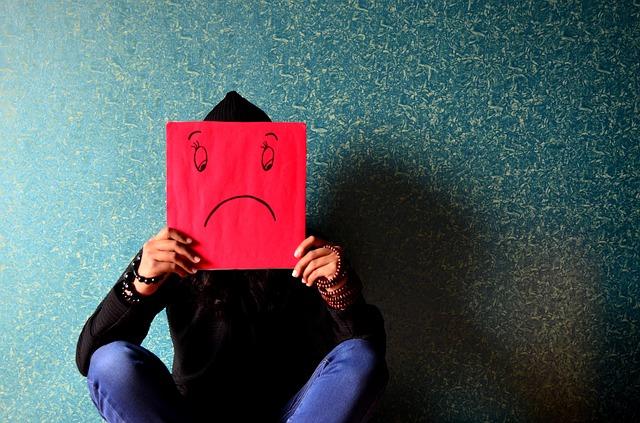 nešťastný muž