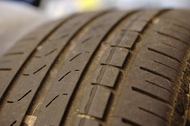 ojetá pneumatika