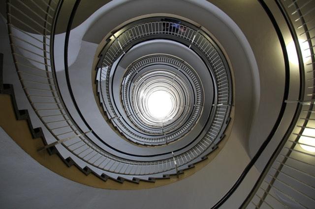 Zakrútené schodisko
